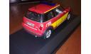 BMW Mini One Feuerwehr Munchen Minichamps 431138190, масштабная модель, 1:43, 1/43