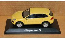 Porsche Cayenne S 2010 Sand-Yellow Minichamps WAP0200060B, масштабная модель, 1:43, 1/43