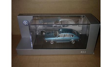 Volkswagen Typ 411 1968 Minichamps 211099300mn6z, масштабная модель, 1:43, 1/43