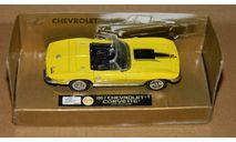 Chevrolet Corvette C2 1967 NewRay, масштабная модель, New-Ray