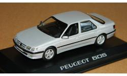 Peugeot 605 silver 1998 Norev 476500