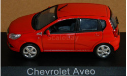 Chevrolet Aveo 2008 (T-255) red Norev 900010