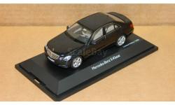 Mercedes-Benz E-class Limousine Avantgarde 2009 W212 Dark Blue Metallic Schuco