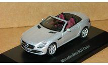 Mercedes-Benz SLK-class 2011 R172 Silver Schuco B66960509, масштабная модель, 1:43, 1/43