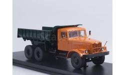 КрАЗ-256Б1 самосвал оранжевый/зеленый SSM SSM1086