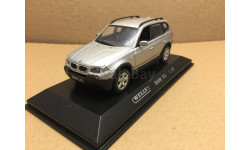 BMW X3 E83 2003 Silver Welly 80067