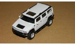 Hummer H2 White Cararama 1/72, масштабная модель, 1:72, Bauer/Cararama/Hongwell