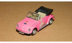 Volkswagen Beetle Pink Pepsi-Cola Cararama 1/72