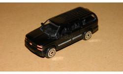 Chevrolet Suburban Black Welly 1/72, масштабная модель, scale72