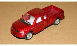 Ford F-150 Red Metallic Welly 1/72, масштабная модель, 1:72