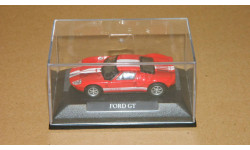 Ford GT Red/white stripes YatMing 1/72, масштабная модель, 1:72, Yat Ming (Road Signature)