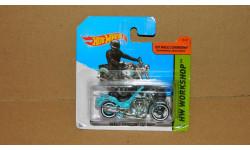 Harley-Davidson Fat Boy HotWheels, масштабная модель, 1:43, 1/43, Hot Wheels