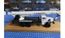 Автокран Челябинец на базе Урал, масштабная модель, ЧТЗ, scale43