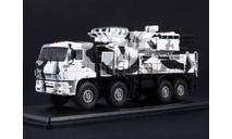 КАМАЗ 6560 зрпк (Панцирь С1) камуфляж Арктика, масштабная модель, Start Scale Models (SSM), scale43