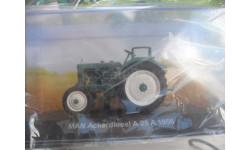 MAN Ackerdiesei A 25 A -1956. Hachette 1/43 (Тракторы, история, люди, машины)., масштабная модель трактора, scale43