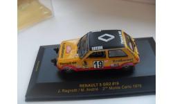 RENAULT 5  GR2  #19. ALPINE Monte Carlo 1978. IXO 1/43, масштабная модель, IXO Le-Mans (серии LM, LMM, LMC, GTM), scale43