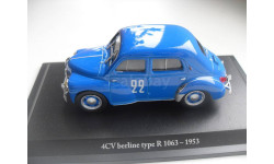 RENAULT 4CV berline type R 1063 - 1953.ELIGOR 1/43, масштабная модель, 1:43