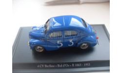 CITROEN 4CV Berline R1063- 1952. ELIGOR 1/43