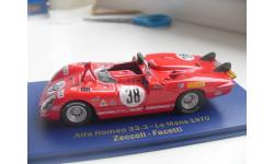 ALFA ROMEO 33.3 #38 LM 1970. M4 MODEL CARS 1/43, масштабная модель, scale43
