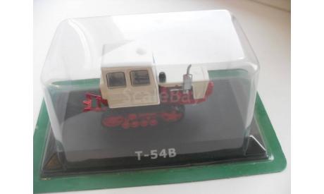 Т-54B. Hachette 1/43 (трактор), масштабная модель трактора, scale43