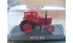 МТЗ-52. Hachette 1/43, масштабная модель трактора, 1:43