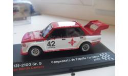 SEAT 131 - 2100 Gr. 5 . Rally de Espania Turismos 1980.IXO/ ALTAYA 1/43, масштабная модель, IXO Le-Mans (серии LM, LMM, LMC, GTM), scale43