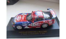 CHRYSLER VIPER #55 Le Mans 2001. IXO 1/43, масштабная модель, IXO Rally (серии RAC, RAM), 1:43