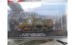 M7 105 mm HMC 'Priest' U.S.Army Sicily (italy) -1943 DeAgostini 1/72, масштабные модели бронетехники, DeAgostini (военная серия), 1:72