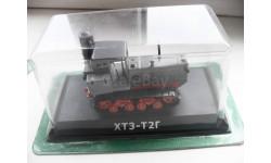 ХТЗ-Т2Г. Hachette 1/43, масштабная модель трактора, 1:43