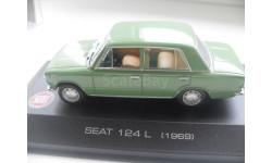 SEAT 124L - 1969. ALTAYA 1/43, масштабная модель, 1:43