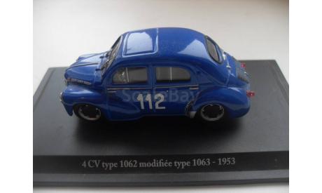 CITROEN 4CV type 1062 - 1953. ELIGOR 1/43, масштабная модель, scale43, Citroën