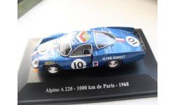 ALPINE A220 - 1000km de Paris - 1968. ELIGOR 1/43