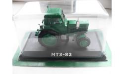 МТЗ-82 . HACHETTE 1/43, масштабная модель трактора, 1:43