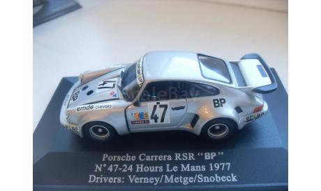 PORSCHE CARRERA RSR 'BP' Le Mans 1977. Universal Hobbies 1/43, масштабная модель, 1:43