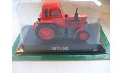 МТЗ-80 .Hachette 1/43, масштабная модель трактора, scale43