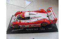 TOYOTA TS10 -1993. ALTAYA 1/43, масштабная модель, scale43