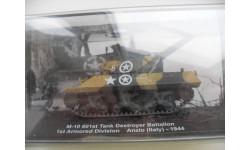 M-10 601st Tank Destroyer Battalion Anzio (Italy)-1944. De AGOSTINI 1/72, масштабные модели бронетехники, DeAgostini (военная серия), 1:72