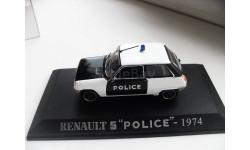 RENAULT 5 ''POLICE''-1974.  Scale: 1/43, масштабная модель, 1:43