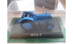 МТЗ-7. Hachette 1/43, масштабная модель трактора, Тракторы. История, люди, машины. (Hachette collections), 1:43