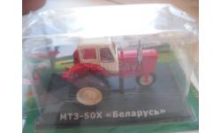 МТЗ-50Х.Hachette 1/43 (трактор), масштабная модель трактора, scale0