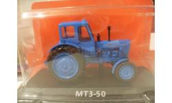 МТЗ-50. Hachette 1/43 (трактор), масштабная модель трактора, 1:43