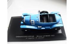 CHENARD&WALKER #9 Winner Le Mans 1923. IXO 1/43