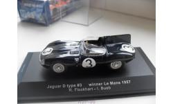 JAGUAR D type #3 winner Le Mans 1957 1/43 IX0