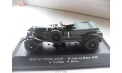 BENTLEY SPEED SIX#1 Winner Le Mans 1929. IXO 1/43