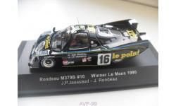 RONDEAU M379B #16 Winner Le Mans 1980. IXO 1/43