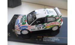 TOYOTA COROLA WRC #17 Rally Finland 2000. IXO 1/43