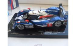 PEUGEOT 908 LMP1 #9 Le Mans 2011. IXO 1/43
