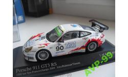 PORSCHE 911 GT3 RS - 2004. MINICHAMPS 1/43