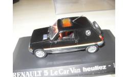 RENAULT 5 Le Car Van heuliez - 1979. Universal Hobbies 1/43