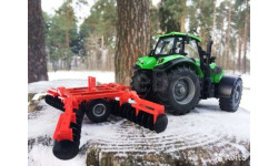 1:32 Siku Disc Harrow Die Cast Machinery, масштабная модель, 1/32